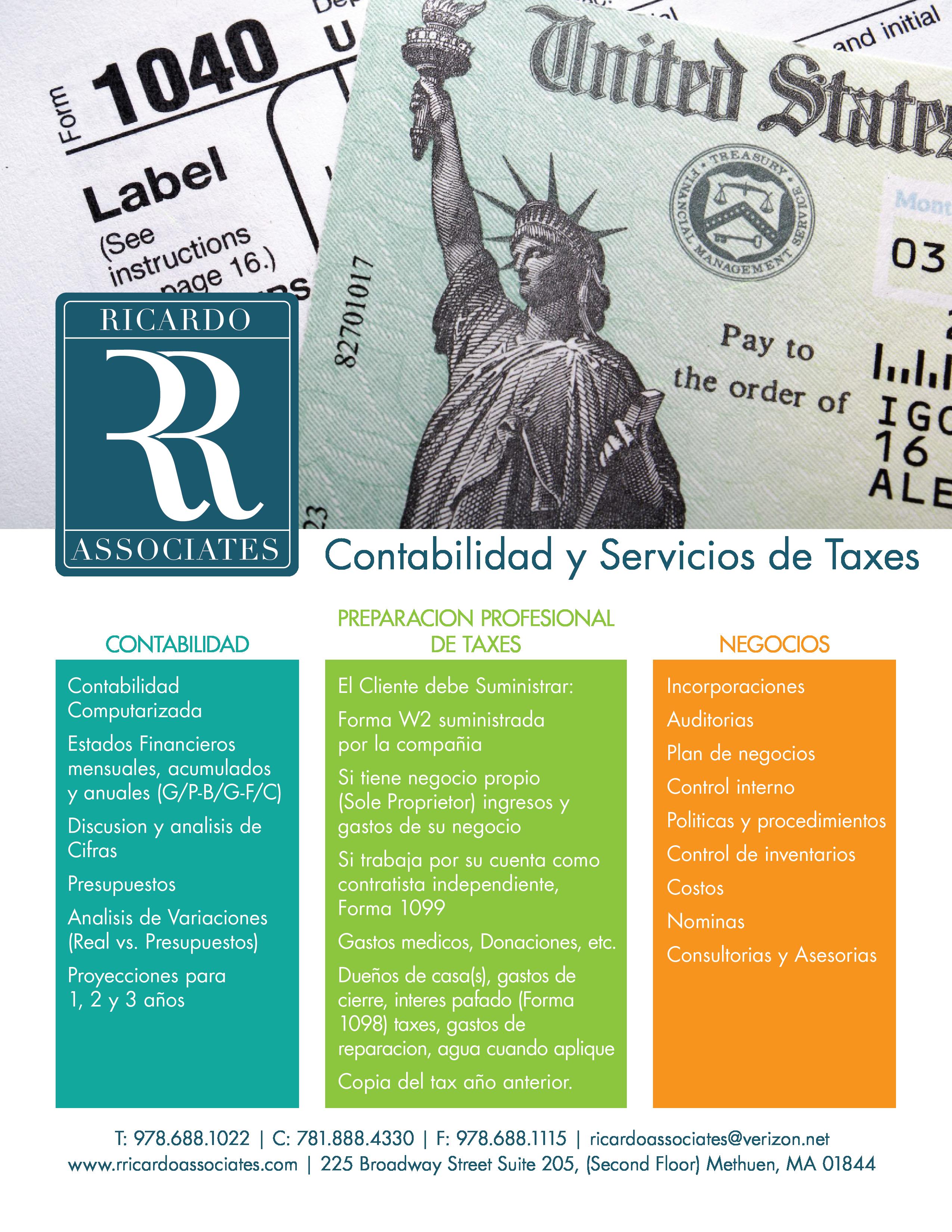 Contabilidad y Servicios de Taxes